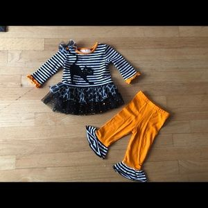 Halloween 3-6 month Girls outfit